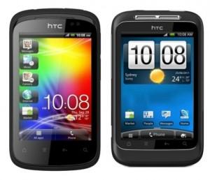 HTC Explorer vs HTC Wildfire S