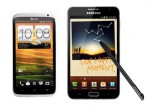 HTC One X vs Galaxy Note