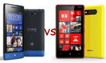 HTC 8S vs Nokia Lumia 820