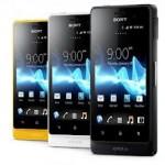 Сравнение Sony Xperia