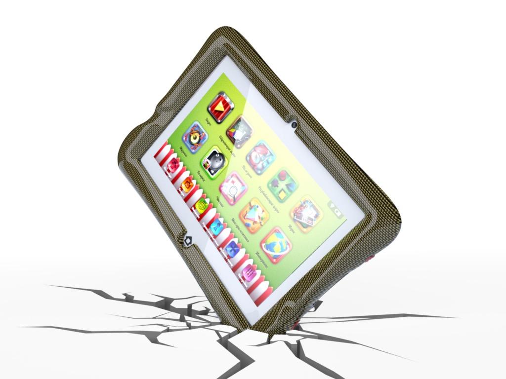 Причины поломки планшетов