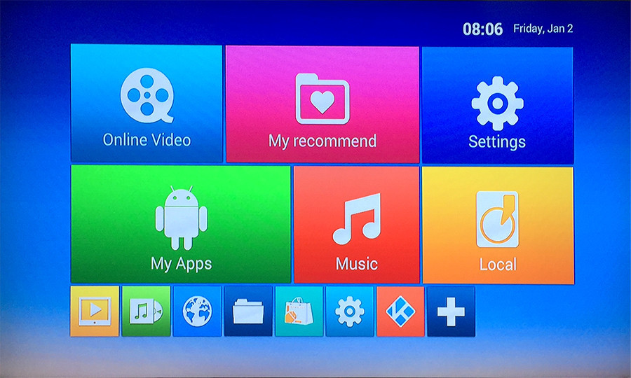 android smart tv cs918g plus
