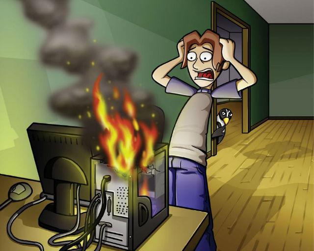 Что нужно делать, если у вас вдруг сломался компьютер