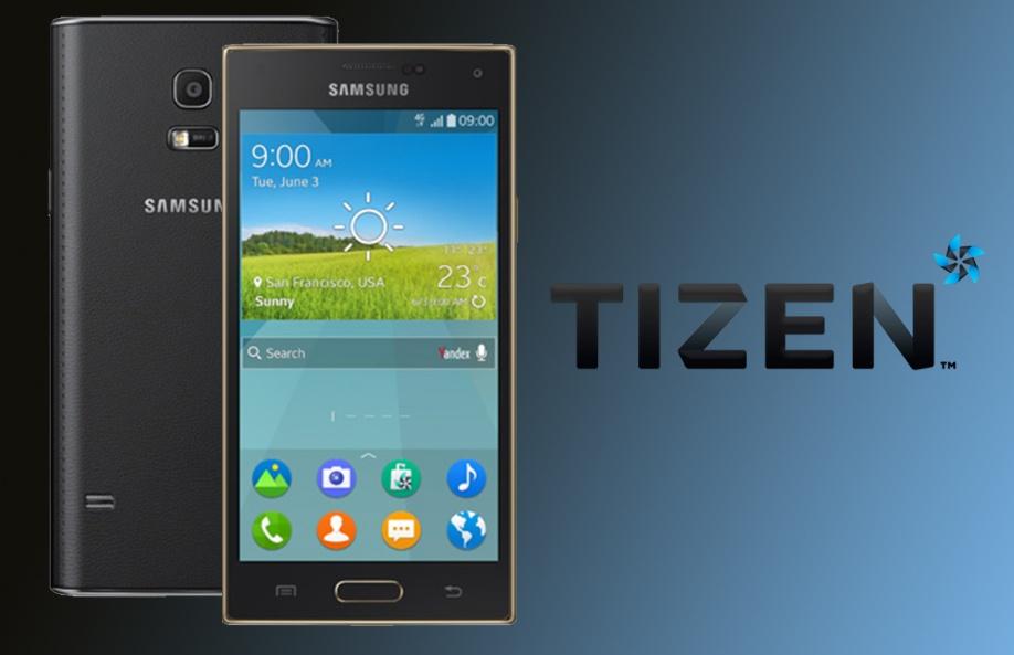 Tizen-смартфоне Samsung