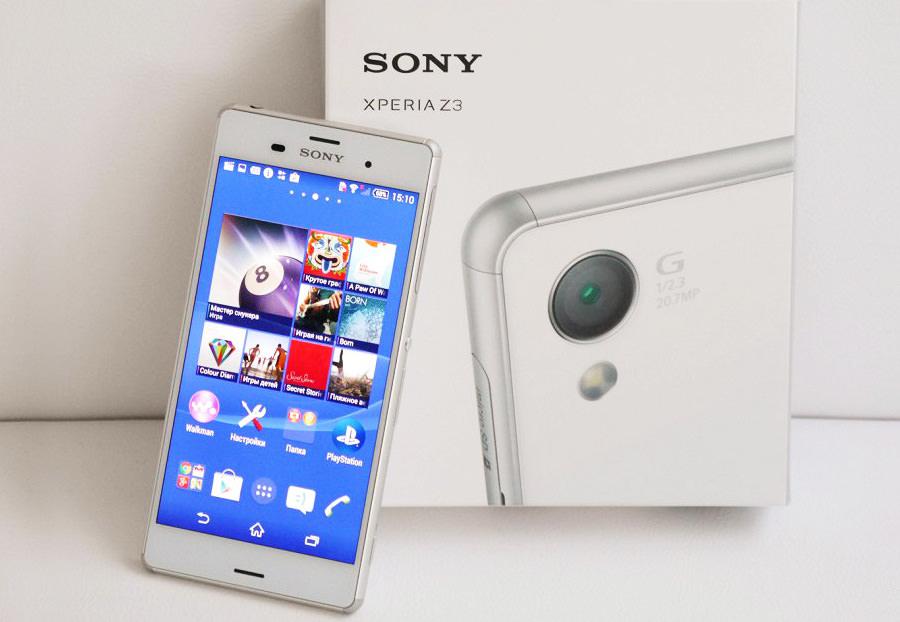 Новый Sony Xperia Z4 2015